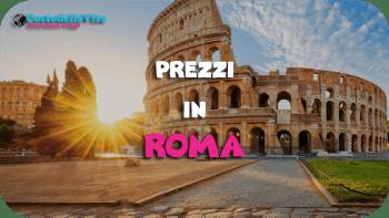 costo della vita Roma