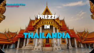 Costo della vita Thailandia