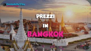 Costo della vita Bangkok