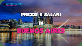 Costo della vita Buenos Aires