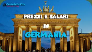 Costo della vita Germania
